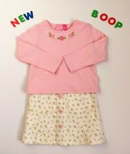 Toddler Kids Baby Girls Clothes Size 2/3 NWT GoodLad Pink Dress Skirt Set Outfit