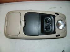 New OEM 2002-2003 Ford Explorer Tan Overhead Roof Console 1L2Z-78519A70-BAC