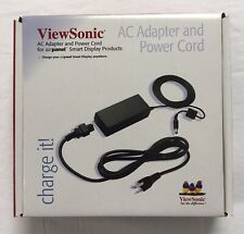 NEW VIEWSONIC AC ADAPTER & POWER CORD SUITABLE FOR MANY LAPTOPS & NOTEBOOKS