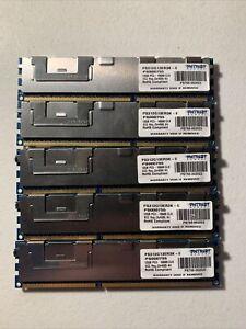 LOT Patriot PS312G13ER3K-E 12GB ECC Server Memory Stick PC3-10600 CL9 LOT  OF 5