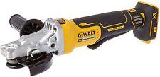 DEWALT DCG413FB 20V MAX XR Flathead Paddle Switch Small Angle Grinder