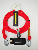 Boatworld HD Waterski Wakeboard Tow Rope Harness Bridle Self Centre+Float+Tidy