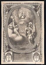 LEVITICUS 6 Ignis in altari schöner grosser Kupferstich 17. Jahrhundert Original