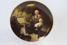 Norman Rockwell Grandpa's Treasure Chest Edwin Knowles Collectors Plate Vintage