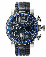 3 DAY 75% OFF Sale!Graham Silverstone GMT Chrono Automatic Mens Watch 2BLCH.B30A