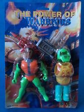 Vintage action figure-the power of warriors-bootleg jouet-earth force