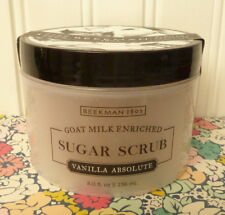 BEEKMAN 1802 - VANILLA ABSOLUTE - SUGAR SCRUB GOAT MILK ENRICHED SEALED