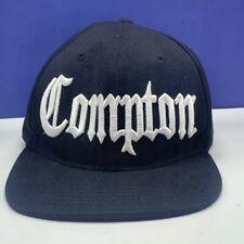 NWA Compton snapback hat cap California CA Ice Cube Dr Dre Eazy E rap hip hop