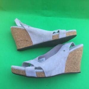 UGG AUSTRILIA women's fashion wedge high heel shoes size--11