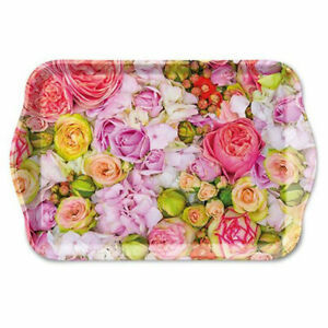 Ambiente Melamine Scatter Tray Bed of Roses