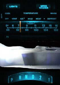 Supplemental LED Dashboard Bulbs Ice Blue For 73 79 Ford F100 - F350 Truck
