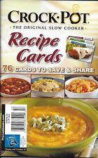 Crock Pot Magazine Recipe Cards Chicken Soups Sandwiches Sausage Easy Prep 2010