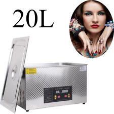 20L Digital Ultrasonic Cleaner Lavatrice Pulitore Vasca Ultrasuoni