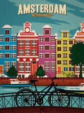 "AMSTERDAM NETHERLANDS 2""x 3"" Photo Fridge Magnet"