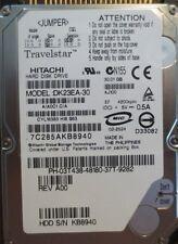 """Hitachi DK23EA-30 A/A0C1 C/A AJA00 REV A00 30gb 2.5"""" IDE/ATA Laptop HDD"""