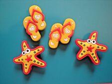 Jibbitz Croc Clog Shoe Plug Button Charms Fit Bracelet Accessories Star Fish