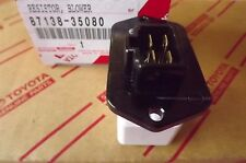 TOYOTA HILUX HEATER FAN RESISTOR FROM 7/1997 TO 2/2005 BRAND NEW AND GENUINE