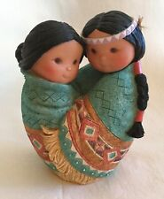 """1995 Enesco Friends of the Feather """"Love For Many Moons� Figurine"""