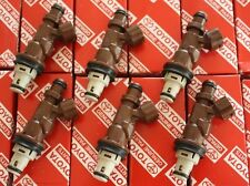 Set of 6 Genuine OEM Toyota 4Runner Fuel Injector 23250-62040 Tundra Tacoma 3.4L