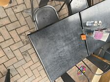 More details for restaurant table and chairs