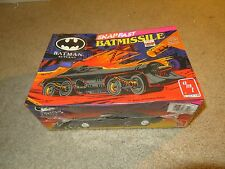 Amt Ertl Snapfast Batman Returns Batmissile 1/25 Model Kit 1992 Misb Sealed