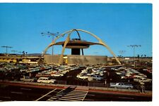 Skyhigh Restaurant-Airport Terminal-Los Angeles-California-Vintage 1966 Postcard