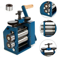 Manual Combination Rolling Mill Machine Tools & Jewelry Equipment Steel Nagelneu