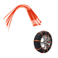 10 Pieces Snow Tire Chain Anti-skid Chains For Car Truck SUV Winter Driving