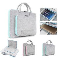 Wool Felt Laptop Bags 11 13 15 17 inch Tablet Mouse Bag Briefcase for Laptop PC