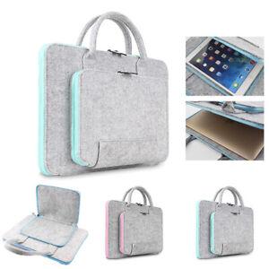 Wool Felt Laptop Bags 11~17 inch Tablet Mouse Bag Briefcase for Laptop PC