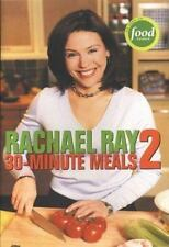 30 MINUTE MEALS book # 2 by Rachael Ray (2003, Paperback) BRAND NEW MSRP $16.95