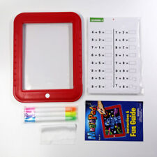 20 IN 1 3D Magic Pad Light Up Board Drawing Tablet Pens Craft Educational Toy