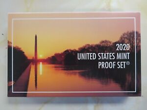 2020 S CLAD Full Proof set with Box and COA and Proof W Nickel