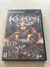 SONY PS2 - Koei KESSEN  Black Label - Playstation 2 Complete CIB