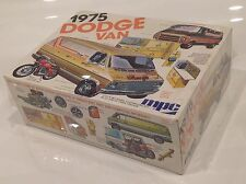 Rare NOS Vtg 1975 MPC DODGE VAN Custom Street Rod 1:25 MODEL KIT #1-7522 Sealed