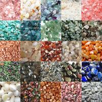 100g Natural Quartz Crystal Stone Mineral Gravel Healing Fish Tank Aquarium Deco