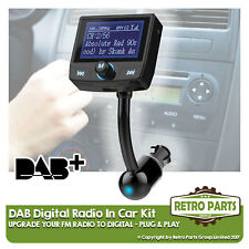 FM to DAB Radio Converter for Toyota Corolla Verso. Simple Stereo Upgrade DIY
