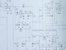 Schema für Grundig RTV 700 a HiFi-System ORIGINAL