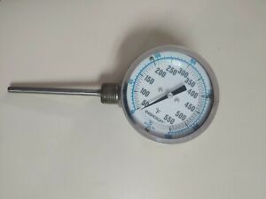 ASHCROFT 50 -550 #12 Bimetal Thermometer