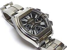 Cartier Roadster XL Chronograph 2618 Automatic, Steel, Black Dial w/Box Papers