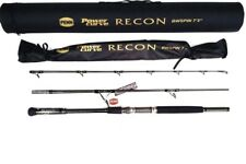 "Penn RECON Power Curve Travel Spin Rod 9"" 4 Piece 5-10KG + Hard Case"