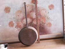 """18th Century Americana antique wrought Iron handle Skillet Fry Pan 22"""" long"""