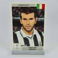 Zinedine Zidane Panini UEFA Champions League 2000-2001 #186 Juventus Sticker
