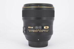 Nikon Nikkor AF-S 35mm f1.4G Lens - Virtually Mint Condition - Ex-Display  - ...