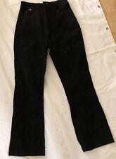 Rampage Leather Pants Juniors Size 10/12 Black Leather Pants Biker