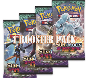 Pokemon Guardians Rising Booster Pack. New & Sealed. Sun & Moon.