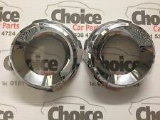 Genuine Vauxhall Vectra VXR C Fog Lamp Chrome Rings 93186621