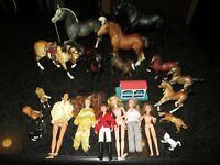Large Breyer Lot ~ Rider Dolls & Horses-Classics, Paddock Pals & More =30 Pieces