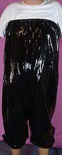 Shorty Pants High haute Shorts Black PVC Adult XL Neuf diargh