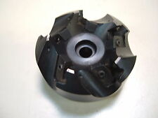 "KENNAMETAL 3"" DIAMETER FACE MILL - HOLDS 5 SQUARE INSERTS WITH HOLE"